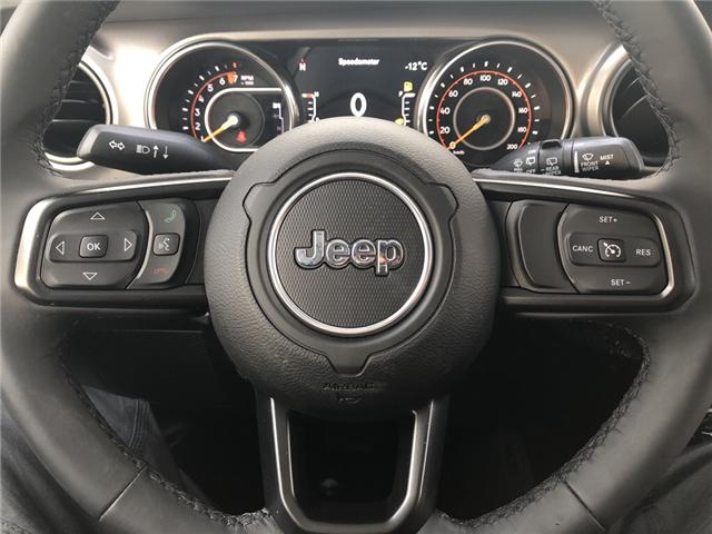 2018 Jeep Wrangler Unlimited Sport (Stk: 12498) in Fort Macleod - Image 13 of 20