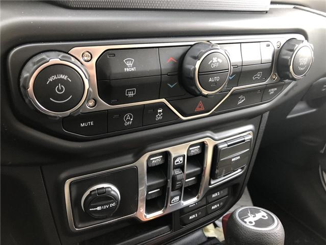 2018 Jeep Wrangler Unlimited Sport (Stk: 12498) in Fort Macleod - Image 18 of 20