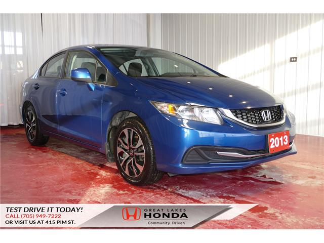 2013 Honda Civic EX (Stk: H5744A) in Sault Ste. Marie - Image 1 of 21
