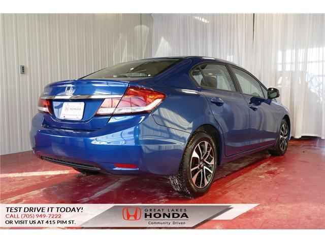 2013 Honda Civic EX (Stk: H5744A) in Sault Ste. Marie - Image 4 of 21