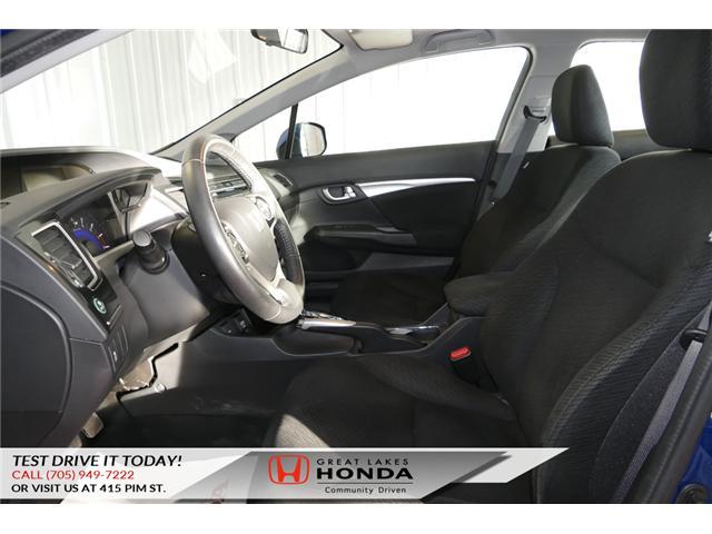 2013 Honda Civic EX (Stk: H5744A) in Sault Ste. Marie - Image 9 of 21