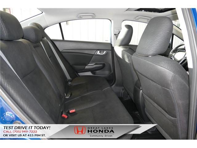 2013 Honda Civic EX (Stk: H5744A) in Sault Ste. Marie - Image 12 of 21