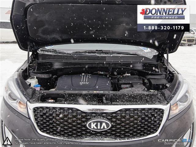 2016 Kia Sorento 3.3L LX + (Stk: PLKU2073) in Kanata - Image 8 of 27