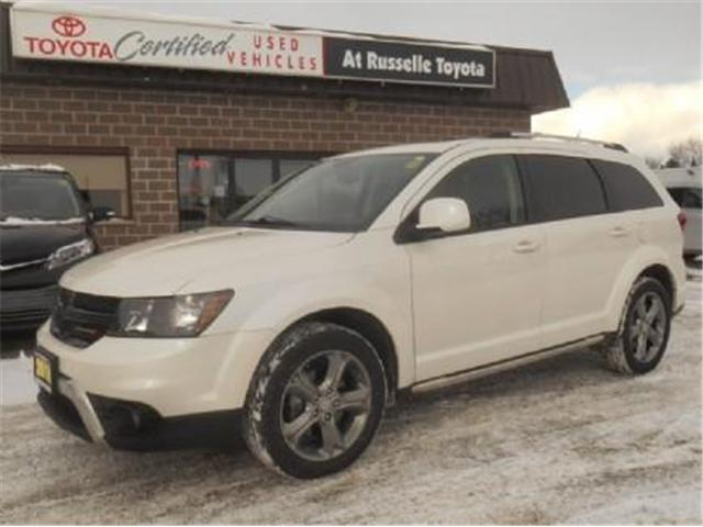 2016 Dodge Journey Crossroad (Stk: U71091) in Peterborough - Image 1 of 11