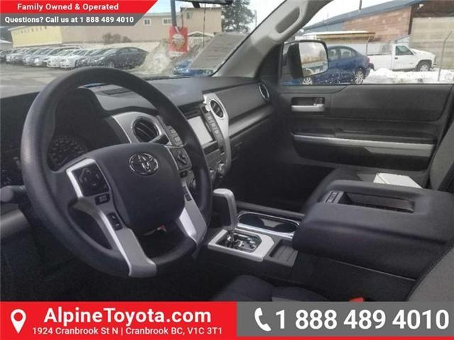2018 Toyota Tundra SR 4.6L V8 (Stk: X076412) in Cranbrook - Image 10 of 16