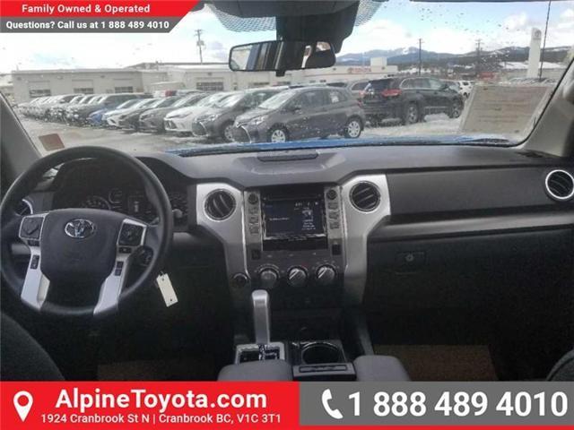 2018 Toyota Tundra SR 4.6L V8 (Stk: X076412) in Cranbrook - Image 11 of 16