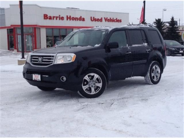 2013 Honda Pilot EX-L (Stk: U13319) in Barrie - Image 1 of 16