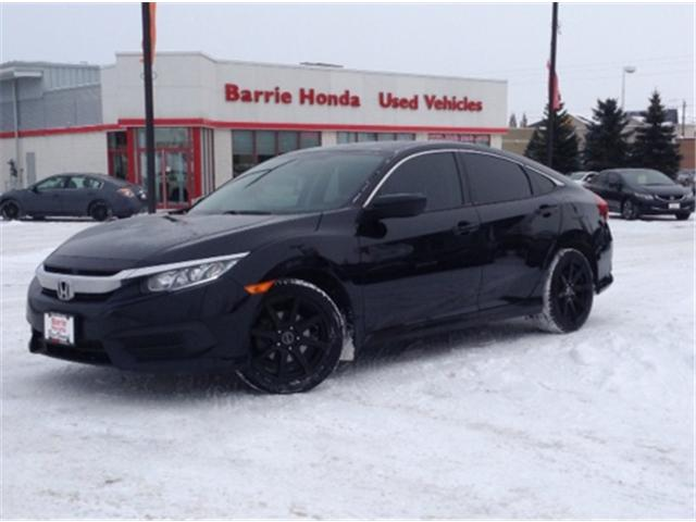 2016 Honda Civic LX (Stk: U16286) in Barrie - Image 1 of 12