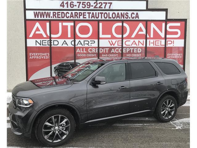 2017 Dodge Durango GT (Stk: 449) in Toronto - Image 1 of 16