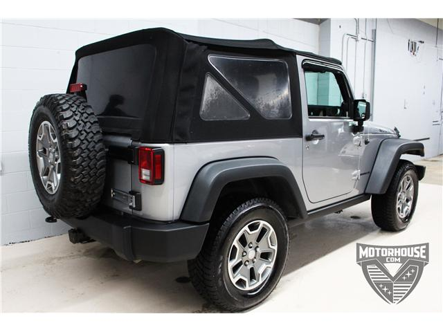 2014 Jeep Wrangler Rubicon (Stk: 1646) in Carleton Place - Image 8 of 21