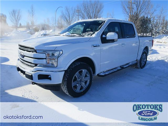 2018 Ford F-150 Lariat (Stk: JK-166) in Okotoks - Image 1 of 5