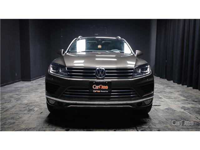 2017 Volkswagen Touareg 3.6L Wolfsburg Edition (Stk: PT16-388A) in Kingston - Image 2 of 36
