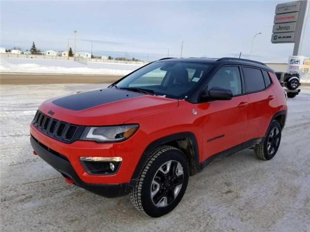 2017 Jeep Compass Trailhawk (Stk: QU018) in  - Image 2 of 13