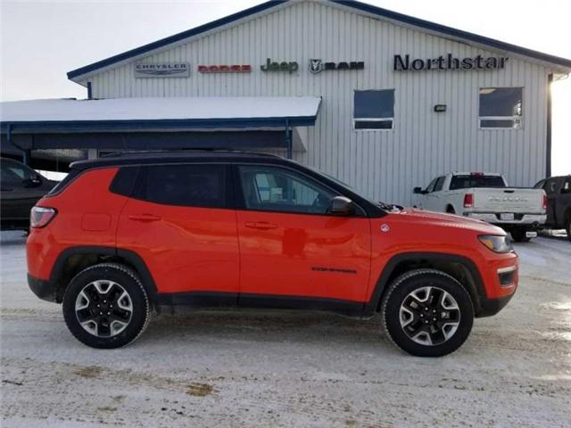 2017 Jeep Compass Trailhawk (Stk: QU018) in  - Image 5 of 13