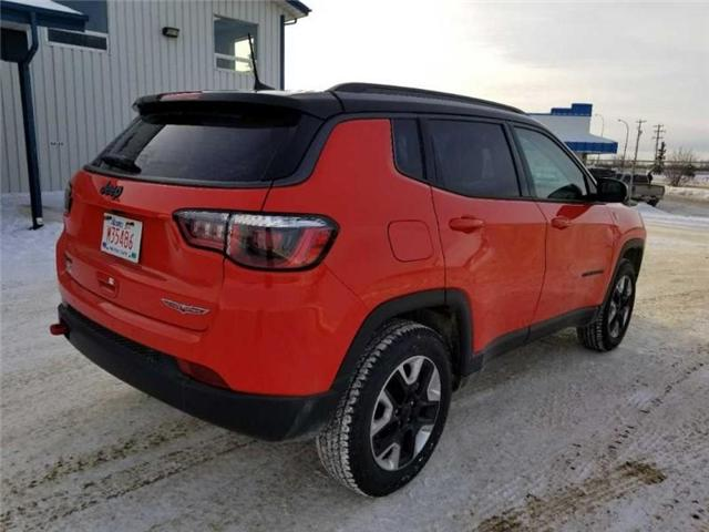 2017 Jeep Compass Trailhawk (Stk: QU018) in  - Image 6 of 13