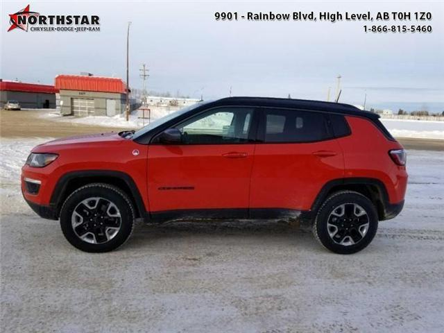 2017 Jeep Compass Trailhawk (Stk: QU018) in  - Image 1 of 13