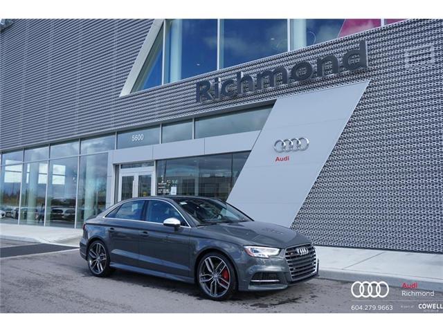 2018 Audi S3 2.0T Technik (Stk: AUPX6470) in Richmond - Image 1 of 1