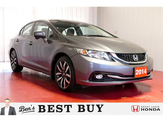 2014 Honda Civic Touring (Stk: HP452) in Sault Ste. Marie - Image 1 of 24