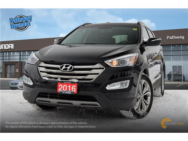 Used 2016 Hyundai Santa Fe Sport 2.0T Limited VENTILATED FRONT SEATS, POWER MOON ROOF, NAVIGATION - Ottawa - Pathway Hyundai