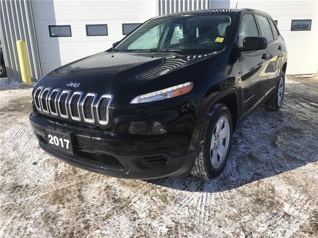 2017 Jeep Cherokee Sport (Stk: 1719221) in Thunder Bay - Image 1 of 15
