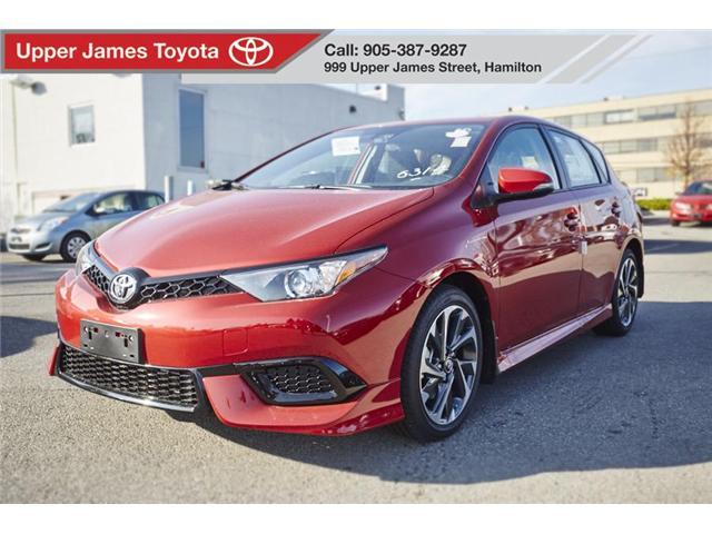 2018 Toyota Corolla iM Base (Stk: 180308) in Hamilton - Image 1 of 12