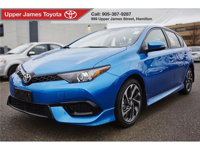 2018 Toyota Corolla iM Base (Stk: 180369) in Hamilton - Image 1 of 12