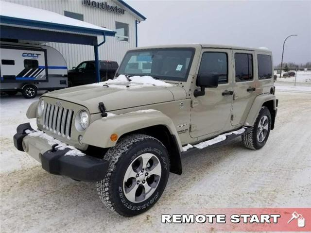 2017 Jeep Wrangler Unlimited Sahara (Stk: QT236) in  - Image 2 of 17