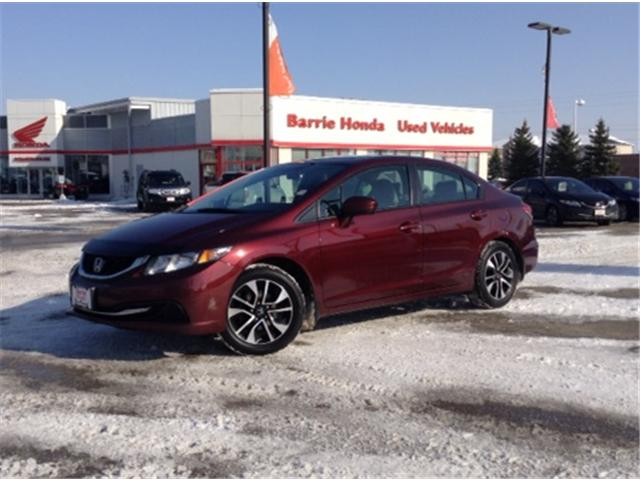 2014 Honda Civic EX (Stk: U14908) in Barrie - Image 1 of 19