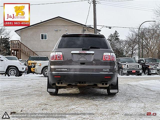 2010 GMC Acadia SLE (Stk: J17034-3) in Brandon - Image 5 of 27