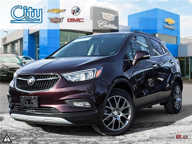 2018 Buick Encore Sport Touring (Stk: 2832341) in Toronto - Image 1 of 27