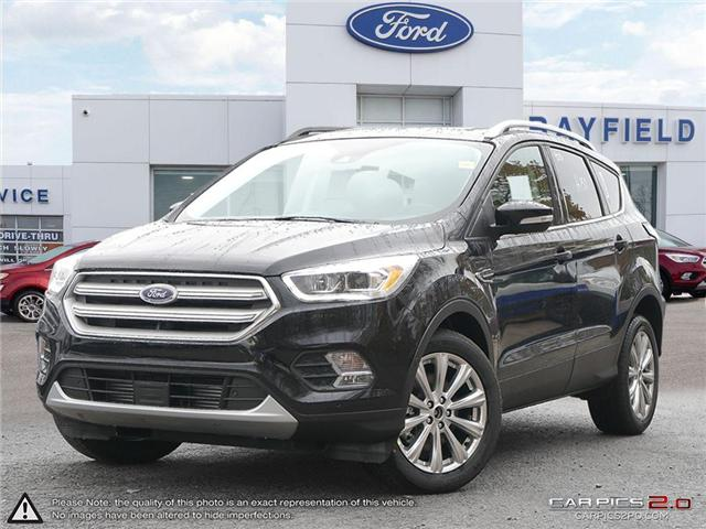 2018 Ford Escape Titanium (Stk: ES18111) in Barrie - Image 1 of 27