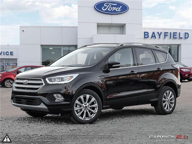 2018 Ford Escape Titanium (Stk: ES18184) in Barrie - Image 1 of 27