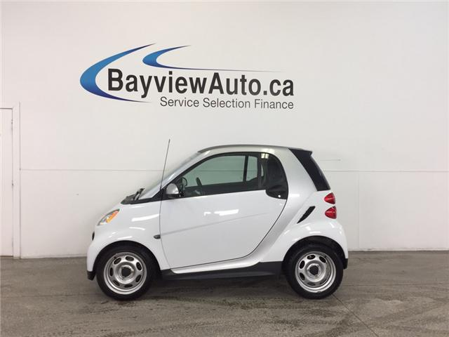 2013 Smart Fortwo - A/C! BLUETOOTH! LOW KM! BUDGET BUDDY! (Stk: 31859) in Belleville - Image 1 of 20