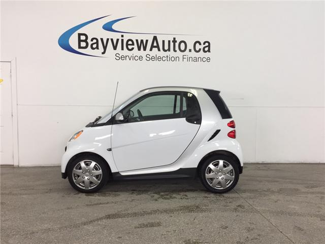 2013 Smart Fortwo - KEYLESS ENTRY! A/C! BLUETOOTH! LOW KM! (Stk: 31794) in Belleville - Image 1 of 21