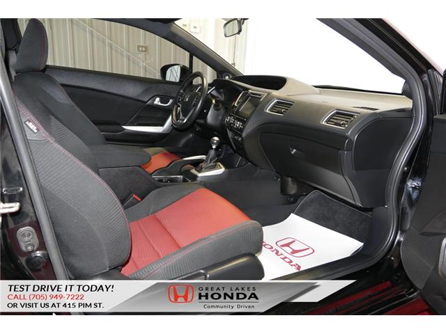 2015 Honda Civic Si (Stk: H5715A) in Sault Ste. Marie - Image 13 of 23