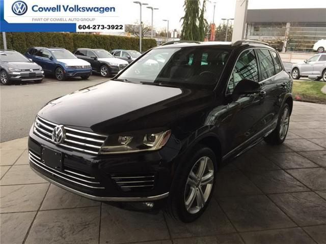 2016 Volkswagen Touareg 3.6L Execline (Stk: VWPE4549A) in Richmond - Image 1 of 20