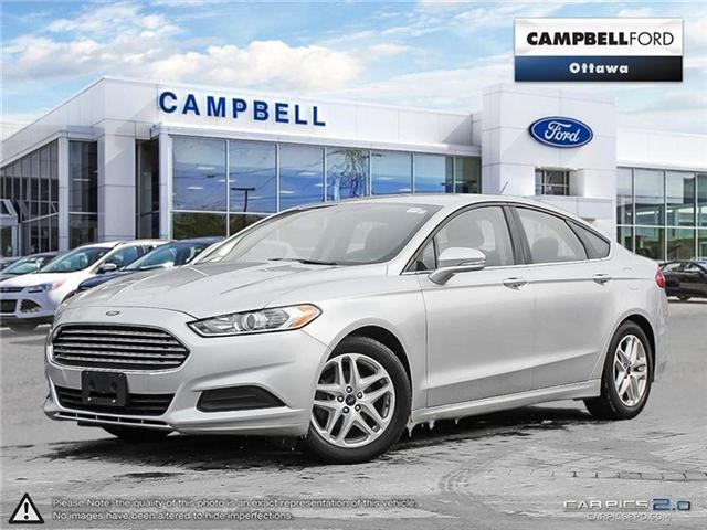 2015 Ford Fusion SE 37,000 KMS-AUTO-AIR-POWER SEATS (Stk: 938260) in Ottawa - Image 1 of 27