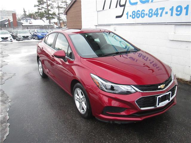 2017 Chevrolet Cruze LT Auto (Stk: 180171) in Richmond - Image 1 of 14