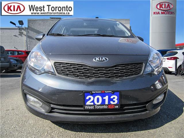 2013 Kia Rio LX+ (Stk: P331) in Toronto - Image 2 of 22