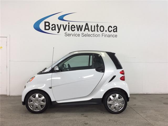 2013 Smart Fortwo PASSION- KEYLESS ENTRY|LEATHERETTE|A/C|BLUETOOTH! (Stk: 31793) in Belleville - Image 1 of 21