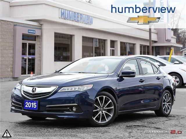 2015 Acura TLX Elite (Stk: 802408TP) in Toronto - Image 1 of 27