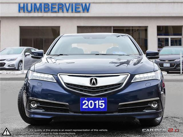 2015 Acura TLX Elite (Stk: 802408TP) in Toronto - Image 2 of 27