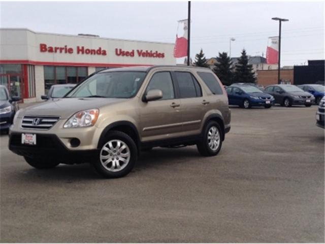 2006 Honda CR-V EX-L (Stk: U06400) in Barrie - Image 1 of 14