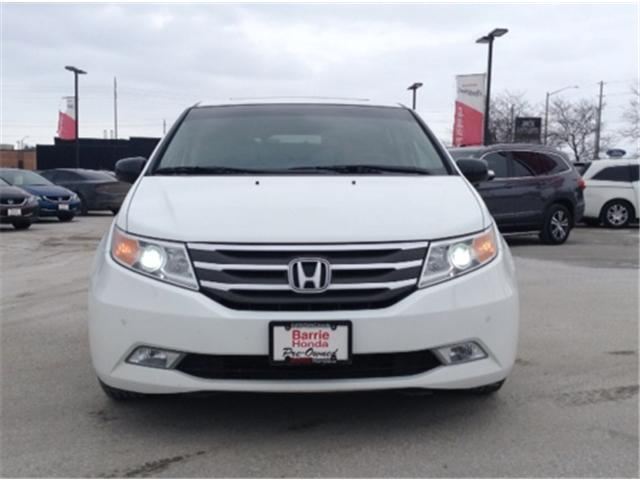 2011 Honda Odyssey Touring (Stk: U11001) in Barrie - Image 2 of 16