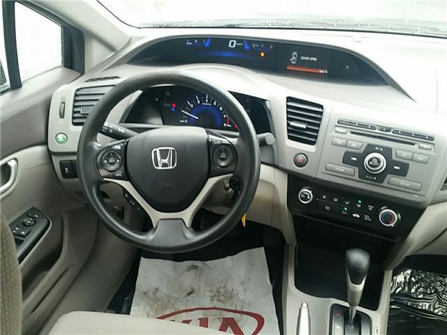2012 Honda Civic LX (Stk: U911) in Hebbville - Image 10 of 18