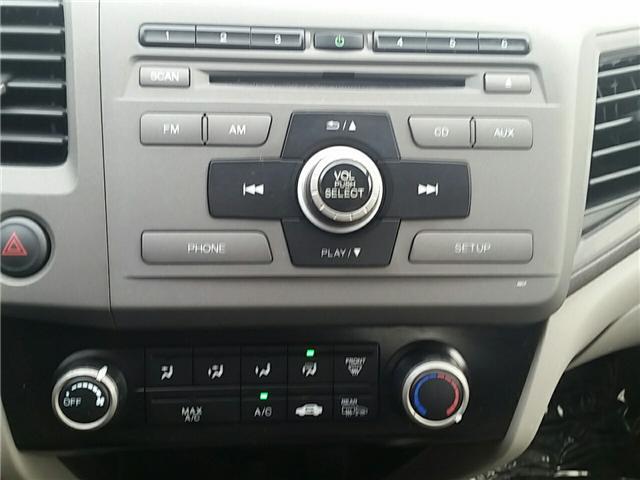2012 Honda Civic LX (Stk: U911) in Hebbville - Image 15 of 18