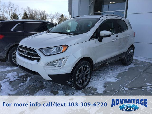 2018 Ford EcoSport Titanium (Stk: J-052) in Calgary - Image 1 of 5