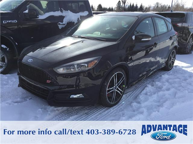 2018 Ford Focus ST Base (Stk: J-293) in Calgary - Image 1 of 5