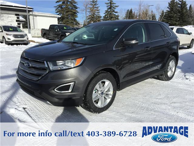 2018 Ford Edge SEL (Stk: J-320) in Calgary - Image 1 of 5