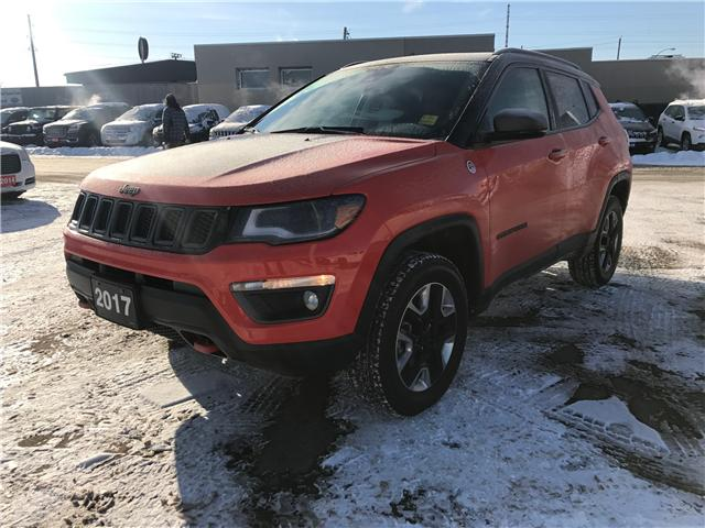 2017 Jeep Compass Trailhawk (Stk: 1718711) in Thunder Bay - Image 1 of 14